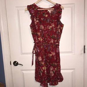 SUPER cute sleeveless Lauren Conrad dress sz L